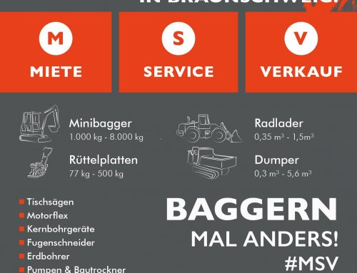 Stützpunkt Braunschweig – Baggern mal anders #MSV